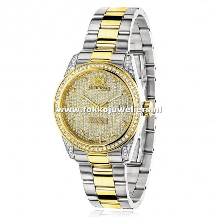 Luxurman Gold Plated Tribeca 1,5 ct.