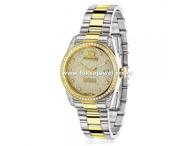 Goedkope diamanten dameshorloge online bestellen? Bekijk snel onze Luxurman horloges!