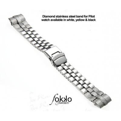 Joe Rodeo Classic diamanten horlogeband