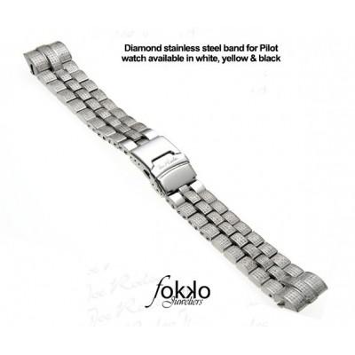 Joe Rodeo Pilot diamanten horlogeband