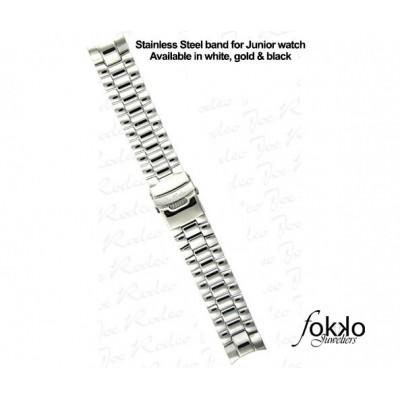 Joe Rodeo zilverkleurige Classic horlogeband