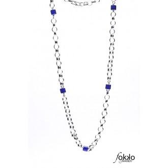 Surinaamse boto keti met blauwe kralen | Surinaamse juwelier