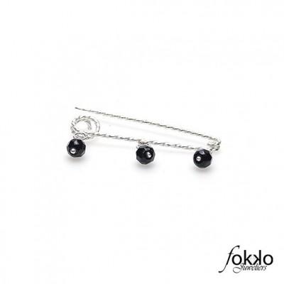 Zilveren Surinaamse speld | Fokko Design