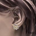 Exclusieve mattenklopper oorbellen | Fokko Design