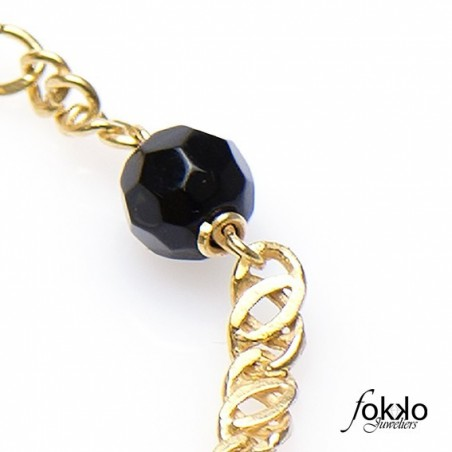 Surinaamse gouden alakondre armband