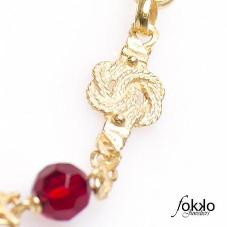 Gouden ala kondre armband