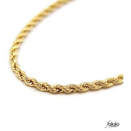Gouden tarate ketting   Surinaams goud