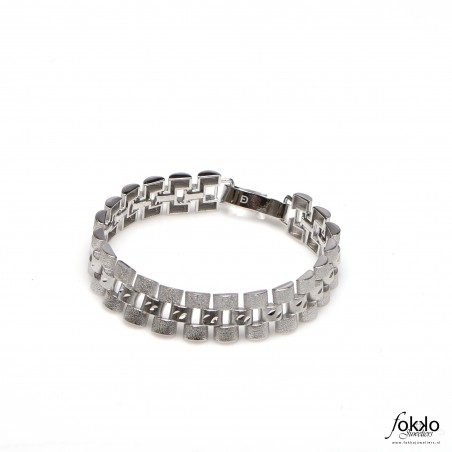 Zilveren Rolex armband | Rolex sieraden | Fokko Design