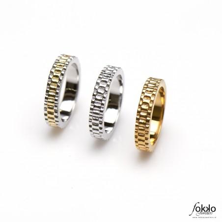 Gouden Rolex sieraden | Zilveren Rolex ring