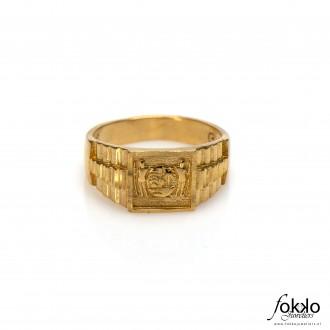 Gouden Surinaamse ring | Suriname wapen