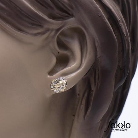 Mattenklopper oorbellen | Mattenklopper sieraden