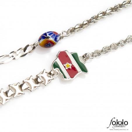 Ala kondre ketting | Surinaamse sieraden | Surinaamse juwelier