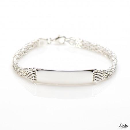 Zilveren mannen armband | Koningsarmband | koningssieraden