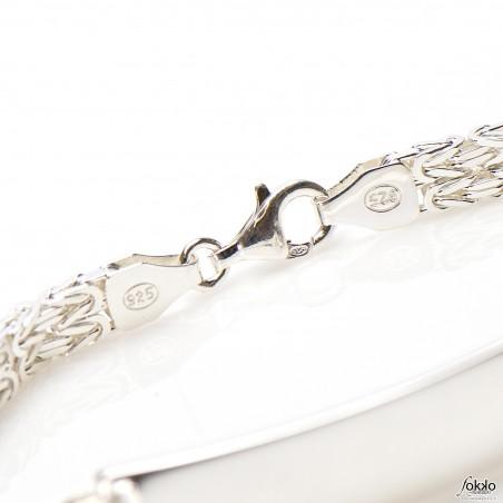 Byzantine bracelet | Heren armband zilver