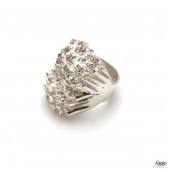 Piet piet ring | Exclusieve Surinaamse sieraden | Surinaamse ring