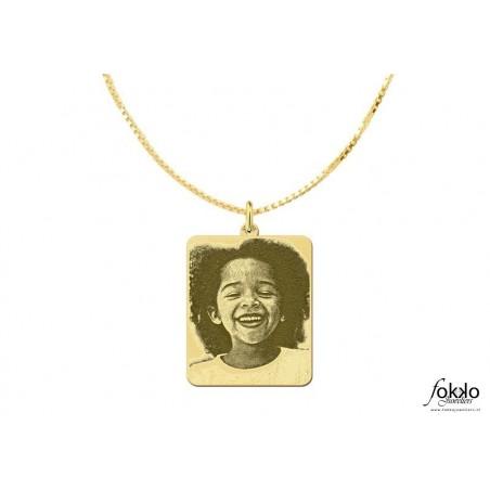 Gouden boto keti met hanger | Surinaams goud