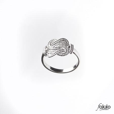 Surinaamse mattenklopper ring van Fokko Design