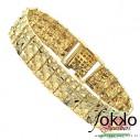 Piet Piet armband | Gouden Surinaamse armband