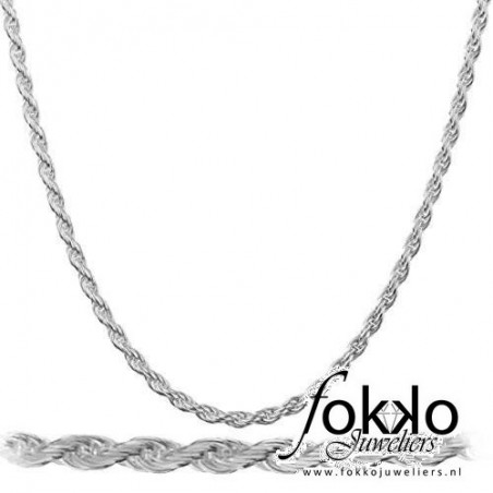 Rope chain   Zilveren rope chain   Goedkope rope chains   Koord ketting