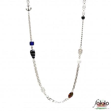 Zilveren ala kondre ketting | Surinaamse ketting | Surinaamse sieraden
