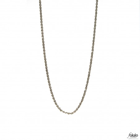 Zilveren rope chain | Rope chain | Tara te ketting