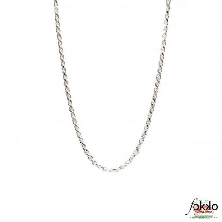 Dikke rope chain kopen | Zilveren rope chain | Surinaamse ketting