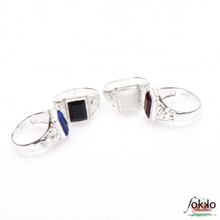 Zilveren Surinaamse ring
