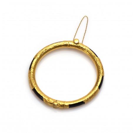 Gouden Surinaamse jade armband | Surinaamse armband goud