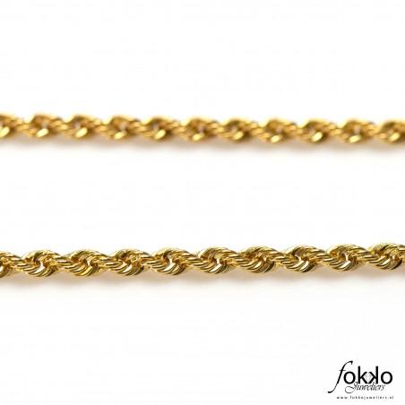 Rope chain zilver | Rope chain bracelet | Tara te bracelet