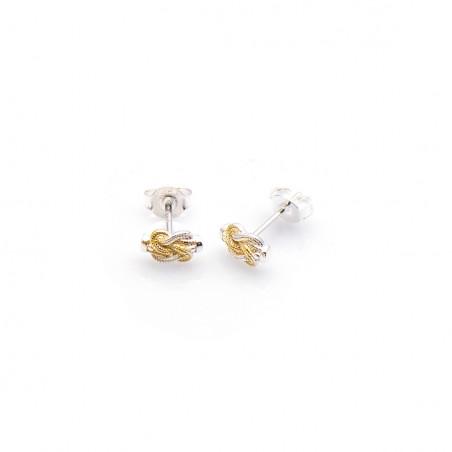 Mattenklopper oorbellen zilver | Mattenklopper oorbellen kind