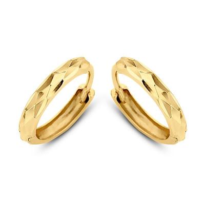 Gouden oorringen   Gouden creolen   Gouden oorbellen kind