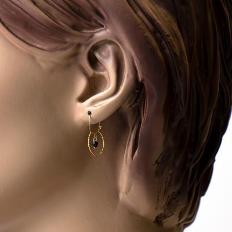 Gouden Surinaamse babysieraden | Gouden surinaamse oorbellen | Gouden surinaamse kinder oorbellen