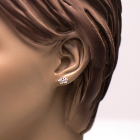 Surinaamse mattenklopper oorbellen | Surinaamse sieraden