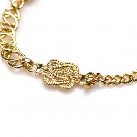 Surinaamse gouden armband | Ala kondre armband