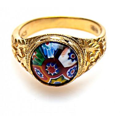 Gouden Surinaamse ring | Gouden ala kondre ring | Ala kondre sieraden