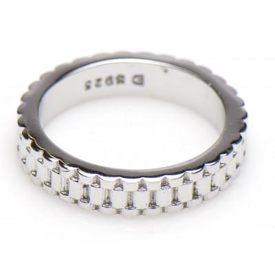 Rolex schakel ring | Rolex ring | Rolex jewelry | Rolex silver